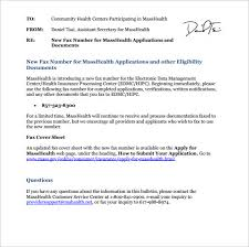 sample masshealth fax cover sheet 8 documents in pdf word