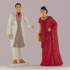 traditional wedding cake toppers indian groom in traditional dress cake topper