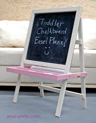 Children S Woodworking Plans Free by Easels And Chalkboards At Woodworkersworkshop Com