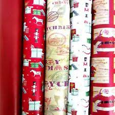 luxury christmas wrapping paper christmas wrapping paper set ebay