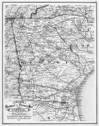 Map Of Tennessee And Georgia hargrett library rare map collection transportation