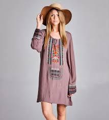 chic dress boho chic dress taupe jpg
