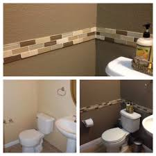 bathroom chair rail ideas musely