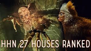 ranking the halloween horror nights 2017 houses youtube