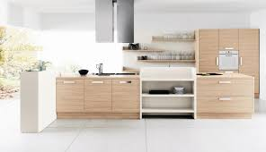 Modern Kitchen Interiors Awesome White Kitchen Interior With Wooden Material And Cabinet