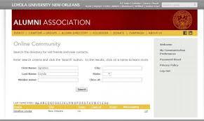 of alumni search loyola online community coming soon alumni association loyola