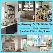 16 charming ikea kitchen for your apartment decorating ideas