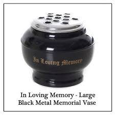 in loving memory items butterfly funeral grave cemetery flower holder pots keepsake