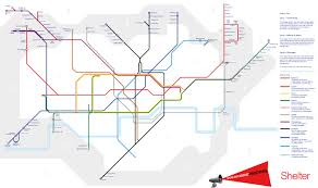 Average Rent Prices by Tube Map Of Affordability Shows How Ridiculous London Rent Prices