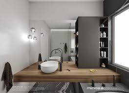 Bathroom Furniture For Small Spaces Minosa Bathroom Design Small Space Feels Large