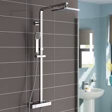 thermostatic double head shower set improving your shower experience and the style of your bathroom in the same time has never been easier with our lamia thermostatic double head shower set