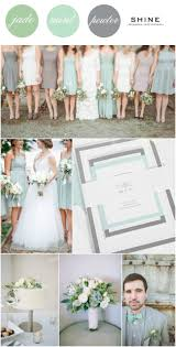 mint pewter wedding inspiration weddings and