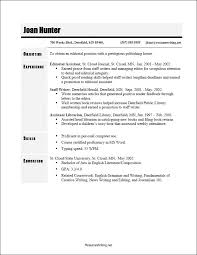 Printable Sample Resume by Best 25 Chronological Resume Template Ideas On Pinterest Resume