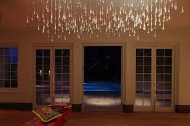 light shower chandelier by bruce munro lusive lighting custom