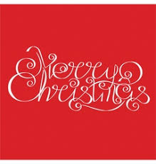 calligraphic christmas lettering royalty free vector image