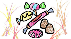 coloring pages candy how to draw learning colouring with