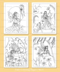 printable fairies coloring pages 6 4 fairy illustrations