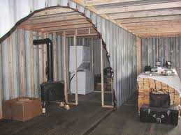 sea shipping container cabin shelter home framing and