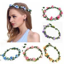 festival flower headbands shop festival hair garlands uk festival hair garlands free