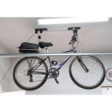 garage bicycle hoist bl 7112 bike storage racks discount ramps
