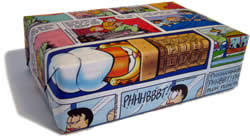 comic wrapping paper unique gift wrapping ideas and