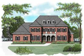 georgian colonial house plans colonial floor plan 4 bedrms 4 baths 4574 sq ft 127 1051