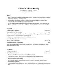 Ats Friendly Resume Example by 19 Google Docs Resume Templates 100 Free