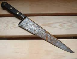 antique kitchen knives how to get rust your knife blade knife depot