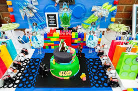 Star Wars Birthday Decorations Kara U0027s Party Ideas Cake Sweet Tabletop From A Lego Star Wars
