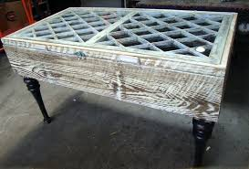 antique window coffee table rascalartsnyc