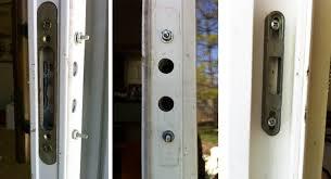 Patio Door Handle With Lock Sliding Patio Glass Door Handle And Locking Mechanism Swisco Com