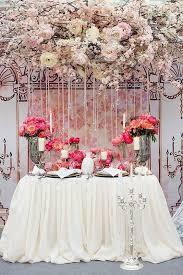 Wedding Head Table Decorations by Romantic Head Table Ideas For Wedding U2013 Weddceremony Com