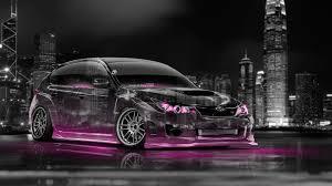 pink subaru wrx 4k subaru impreza wrx sti jdm crystal city car 2014 el tony