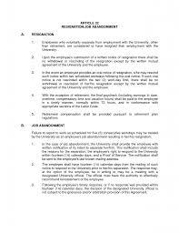 employment job offer letter cover letter resigning letter