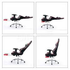 Helicopter Chair Office Racing Chair Executive Game Chair Computer Pu Leather High