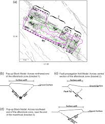 San Simeon Map Complex Faulting Associated With The 22 December 2003 Mw 6 5 San
