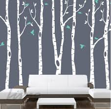 birch tree wall murals home interior wall decals removable wall stickers amp wallpaper murals limedecals