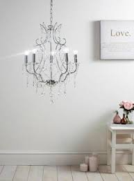 Bhs Crystal Chandeliers White Thea Chandelier Light Bhs Hallway Pinterest Bhs