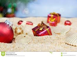 beach christmas ornaments royalty free stock image image 20544296