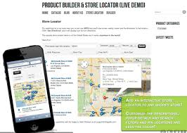 Map Store Store Locator Software Store Finder App For Ecommerce