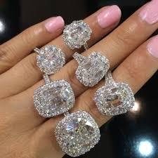 big jewelry rings images Big diamond platinum engagement rings engagement rings depot jpg