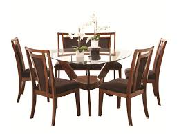 Dining Set With Bench Najarian Gallia Dining Set With Triangular Glass Top Table