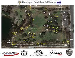 Map Central Park Huntington Beach Central Park Dgc Disc Golf Course Huntington