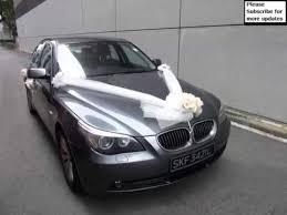 Wedding Car Decorations Wedding Car Decoration Bmw Pictures Of Car Decor Youtube
