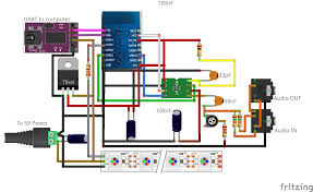 home theater setup diagram graphic equalizer display using esp8266 12 msgeq7 and ws2812