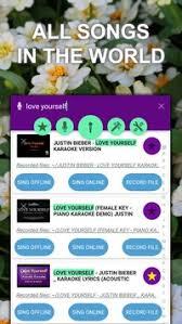 sing karaoke apk sing karaoke record karaoke apk free entertainment app
