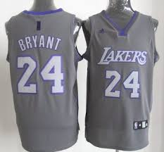 los angeles lakers 24 kobe bryant grey jersey jersey 17194