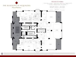 33 bay street floor plans mansions at acqualina worldwide properties