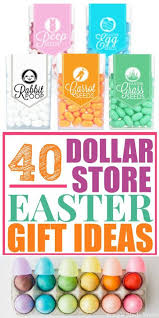easter gifts for adults 40 diy dollar store easter gift ideas simple made pretty