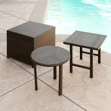small rattan outdoor side table rattan side table outdoor rattan